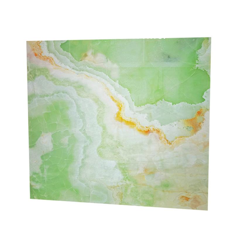 Classic polish Chinese light green onyx marble slab