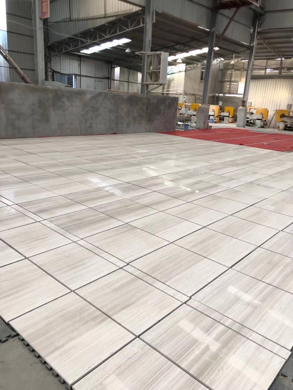 White Wooden Marble floor Tiles China White Wooden Marble tiles