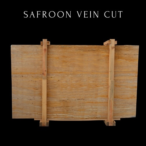 Safroon Vein Cut-Yellow Travertine Light