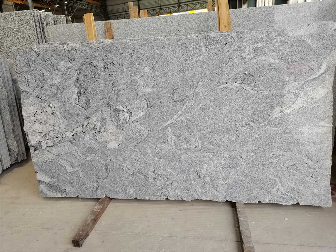 Misty White Granite Slabs