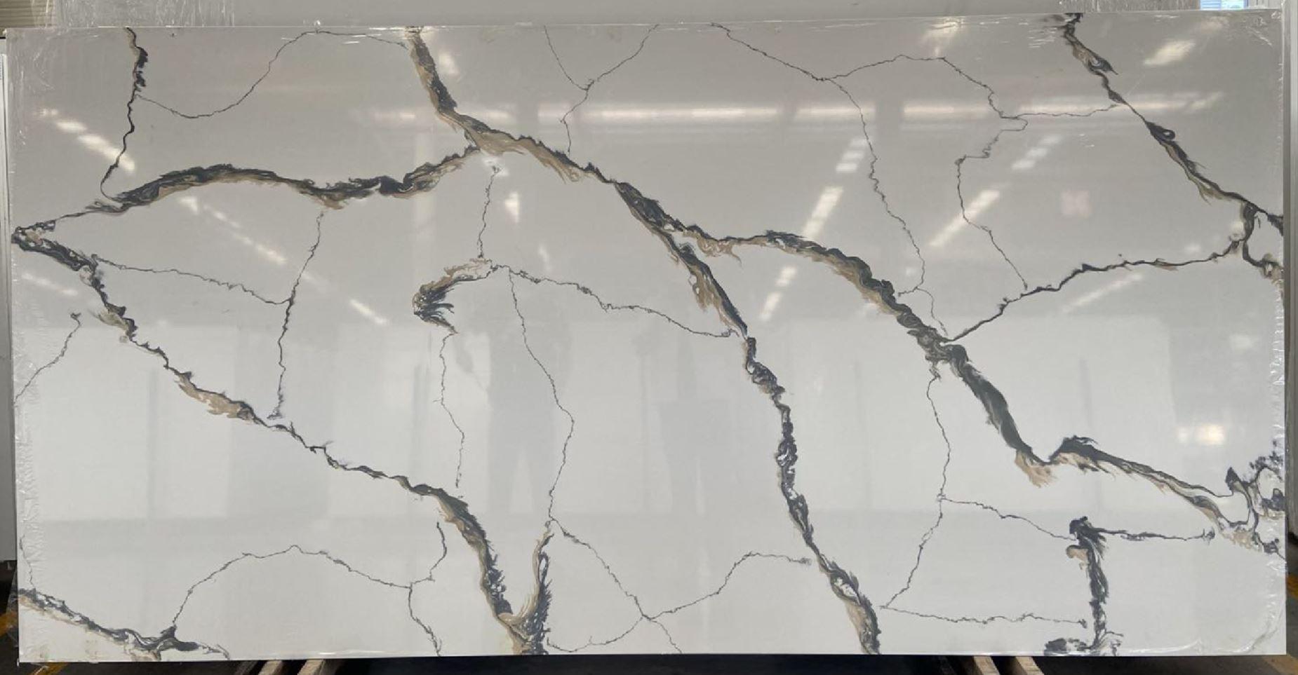 quartz calacatta gold 30mm thickness