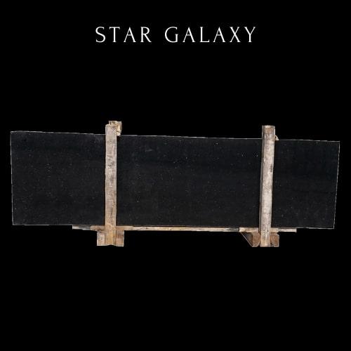 Black Galaxy Granite-Star Cloudy Black Granite