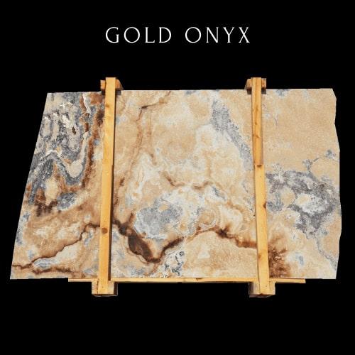 Gold Silver Onyx