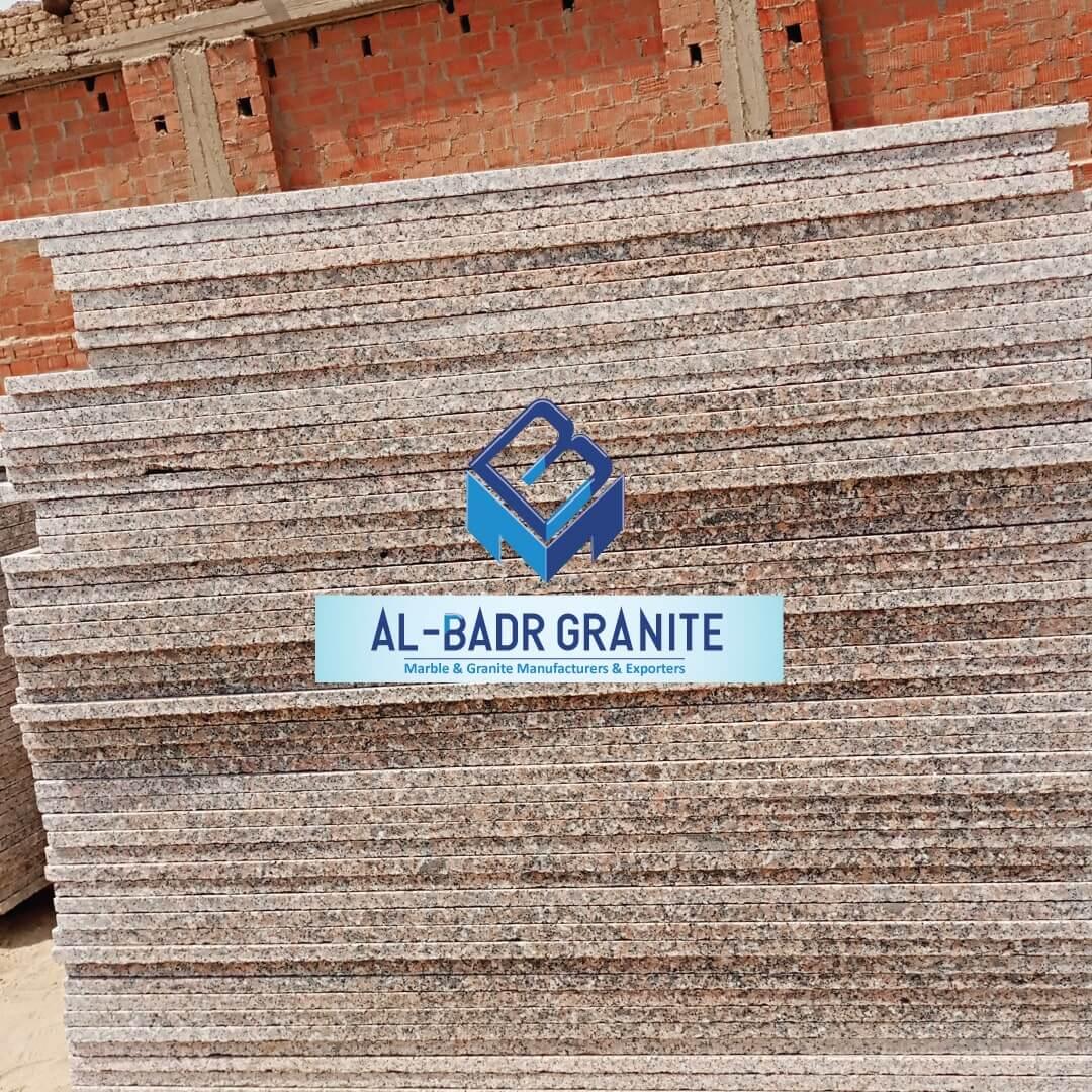 Rose and Grey Granite Slabs - simena Granite Price