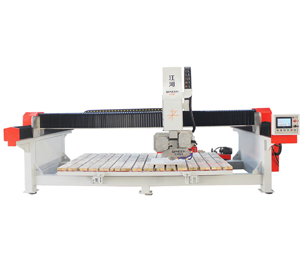 Double-saw 4 Axis Bridge Cutting Machine