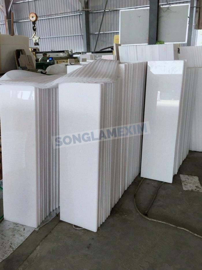 Vietnam White Marble Risers