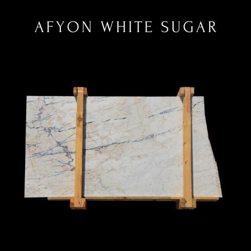Losa de mármol blanco - White Marble Slab