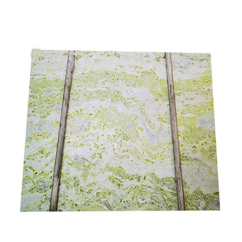 Hot sale light green onyx marble slab