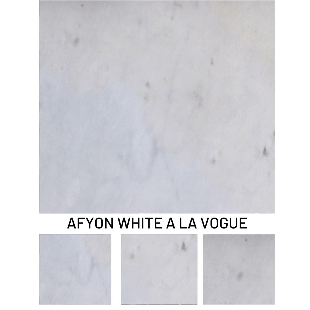 White Marble A La Vogue