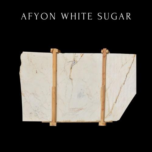 Zuckerweisse Marmorplatte