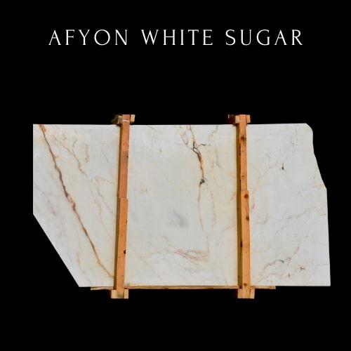 Panneau Marbre Blanc Sucre - White Sugar Marble