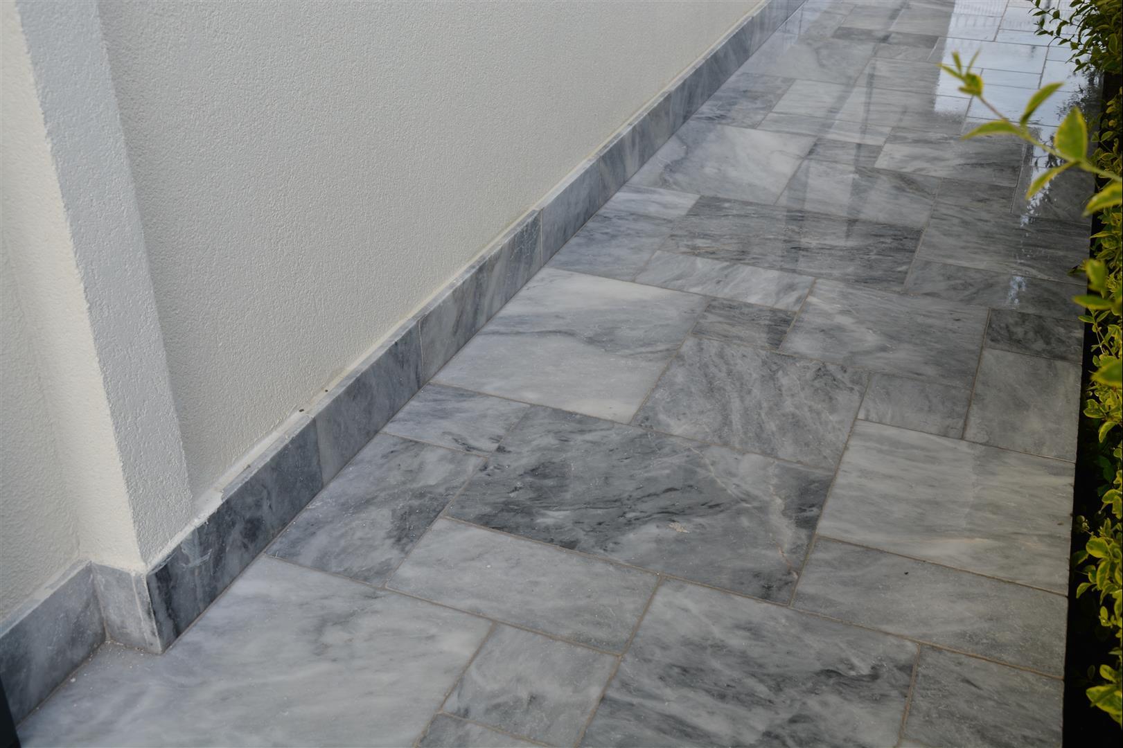 Blue Moon Marble Tiles