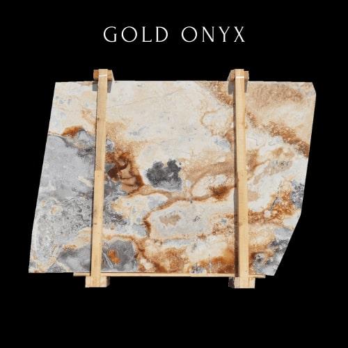 Silver Gold Onyx