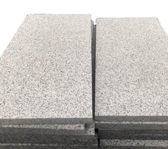 China Silver Granite Cobbl