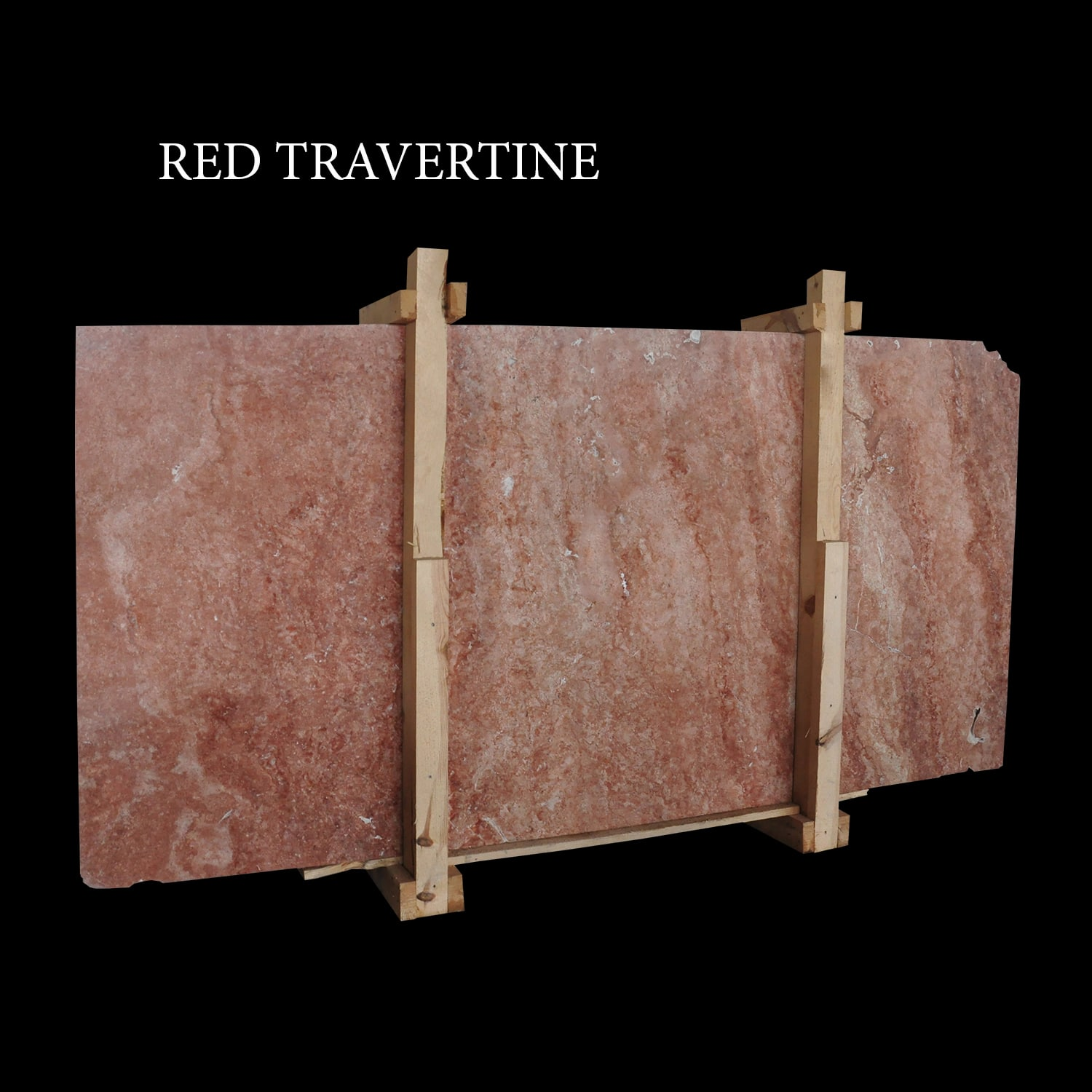 Rouge Fluers  Red Travertine Slabs