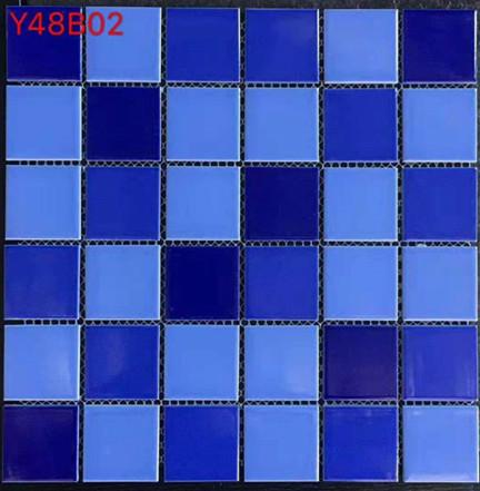Dark Blue Mosaic Tiles Simming Mosaic Tiles Ceramic Mosaic Tiles