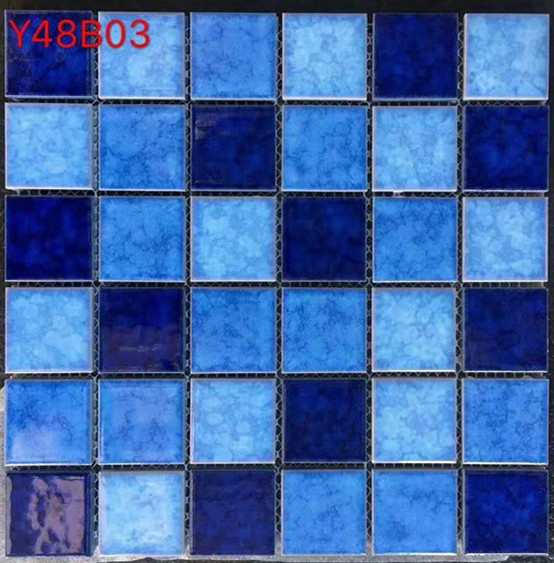Mosaic Tiles Ceramic Mosaic Tiles Glazed Mosaic TilesMixed Color Mosaic