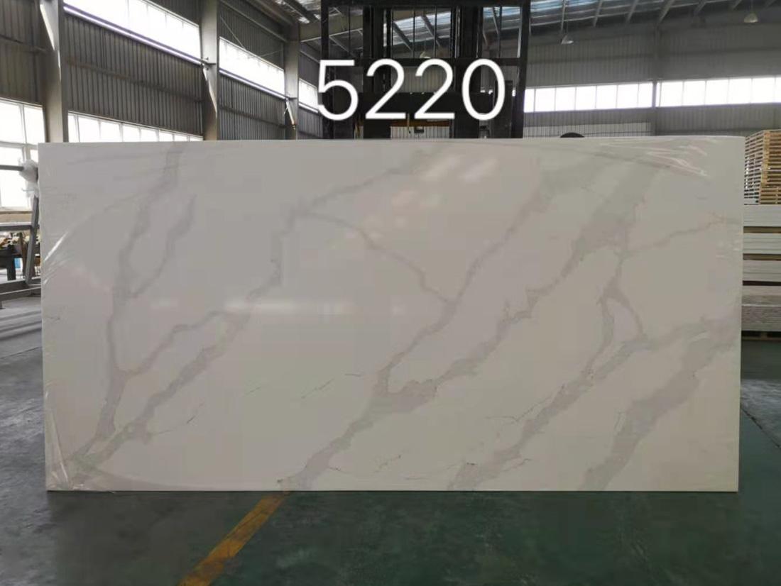 Quartz Stone White Calacatta Countertop White Quartz