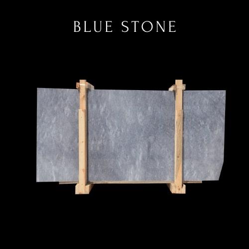 Blaue gewellte Marmorplatte-Lastra di marmo blu ondulato
