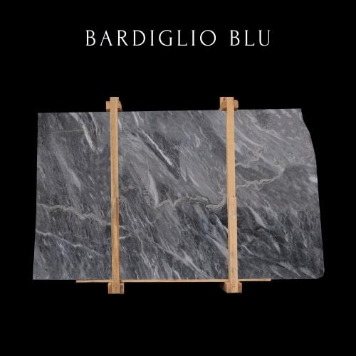 Bardiglio Blue Marble Slab - Lastra di marmo blu Bardiglio