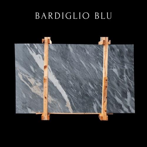 Bardiglio Blaue Marmorplatte-Bardiglio Blue Marble Slab