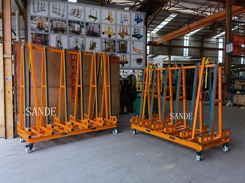 Slab countertop transport rack