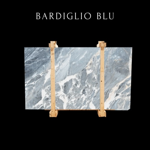 Losa de m��rmol azul Bardiglio -Bardiglio Blaue Marmorplatte