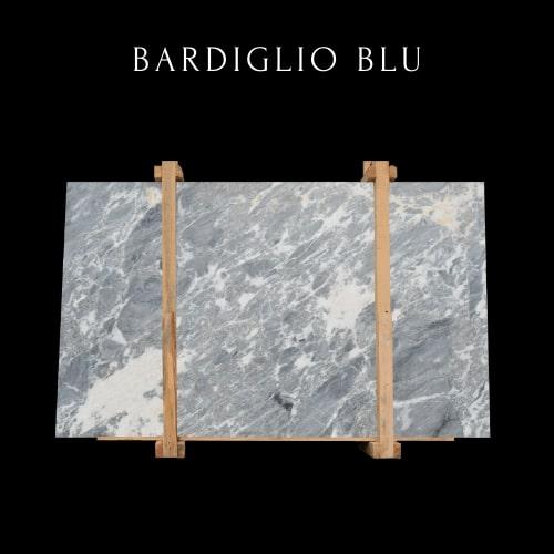 Lastra in marmo Bardiglio ondulato -Wavy Bardiglio marble slab