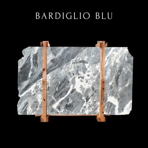 Movable Bardiglio marble slab - Losa de m��rmol Bardiglio movible
