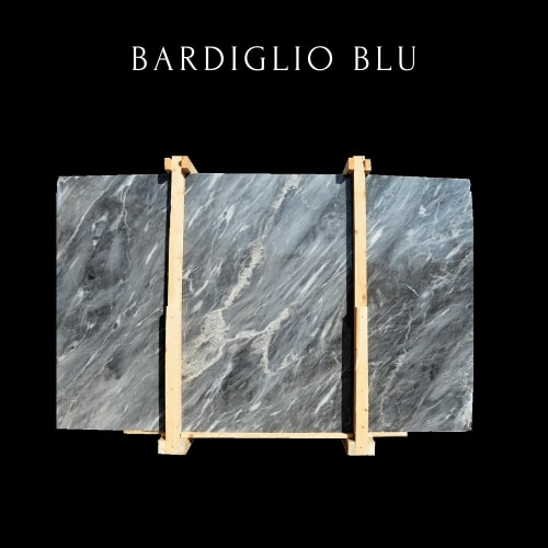 Wellige Bardiglio Marmorplatte -Wavy Bardiglio Marble Slab