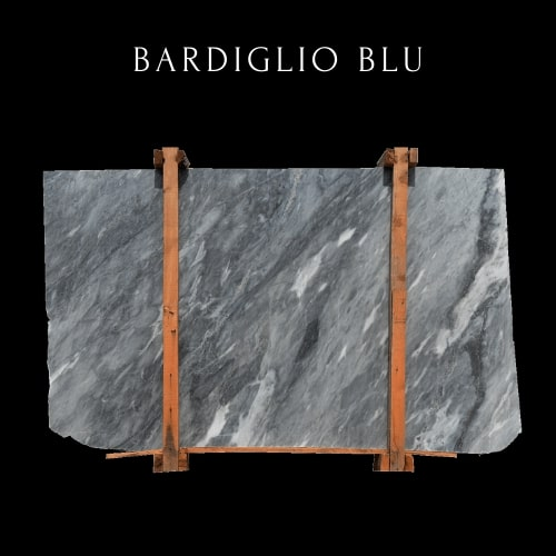 Losa de mármol móvil Bardiglio -Moving blue Marble Slab
