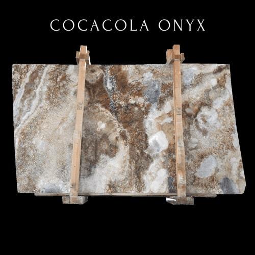 Coca Cola Onyx -  Brown Silver Onyx