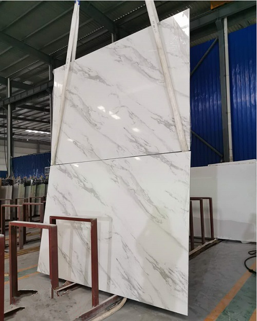 Artificial Marble 3D Volakas White