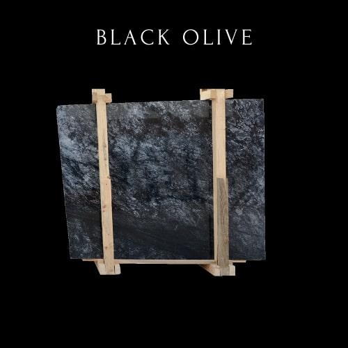 Lastra di marmo nero -Black Marble Slab