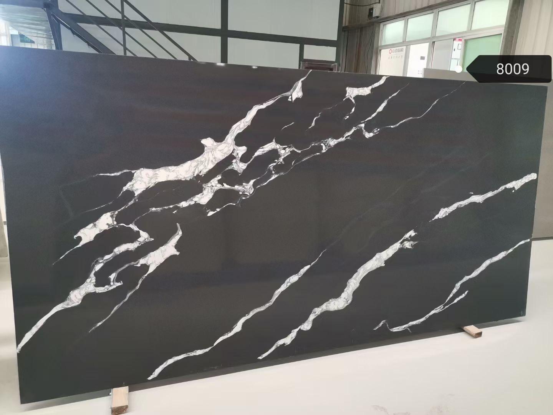 Black AND White Quart Slab