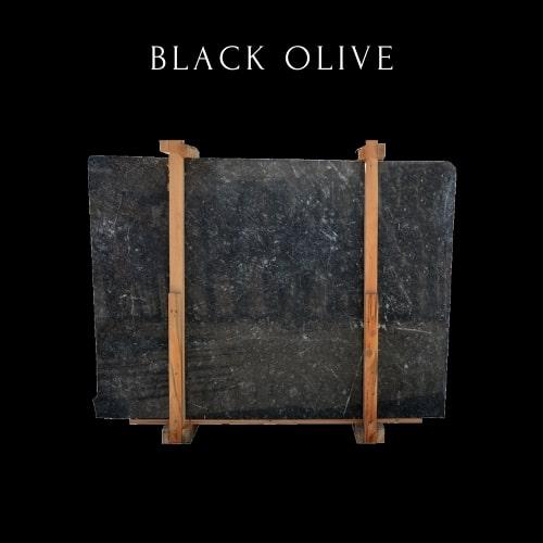 Dalle de Marbre Noir Blanc Ondulé-Wavy White Black Marble Slab