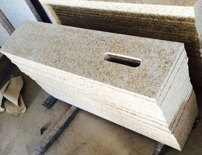 Golden Granite G682 Apron with Tissue box hole 1