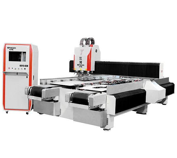 Cutting Quartz Kitchen Countertop Basin GSY3-83D