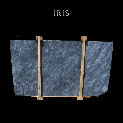 Cloudy Blue Marble Slab - Losa de Mármol Azul Nublado