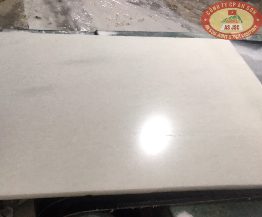 70x140x3 cm Cloudy Cheapest Crystal White Marble Viet Nam