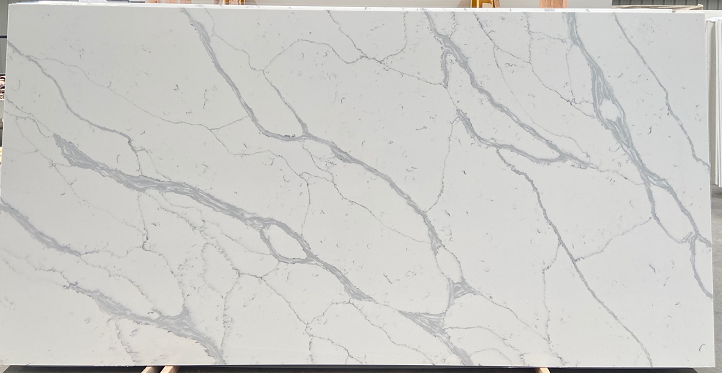 Quartz slabs  carrara white