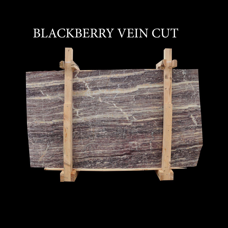Blackberry Vein Cut Slabs