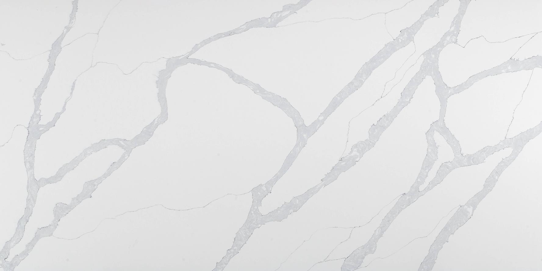 Calacatta Quartz Stone Slabs for Countertops K8803