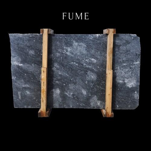 Salome Leopard Marble Slab - Dark Blue Marble