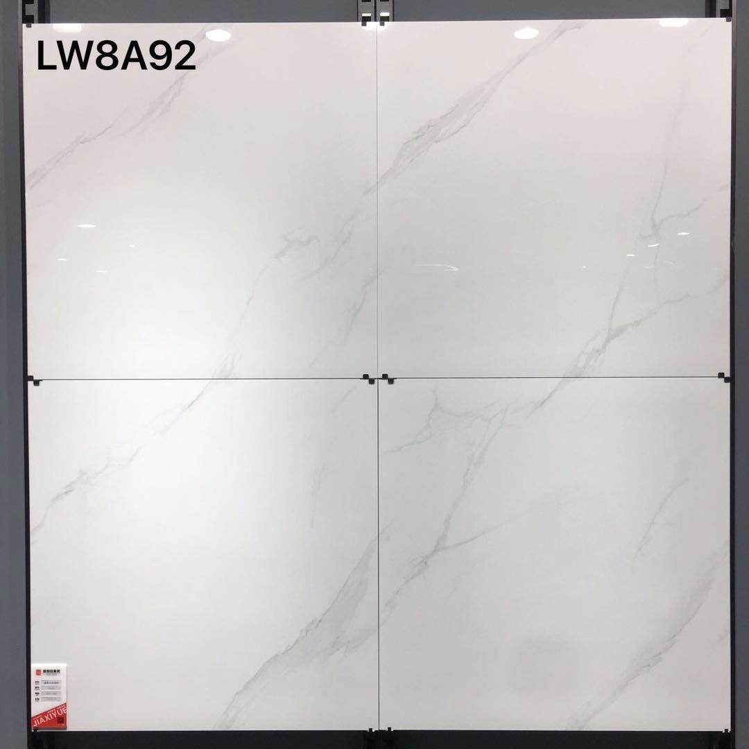 Statuario White Marble Porcelain Tiles Item 8A92