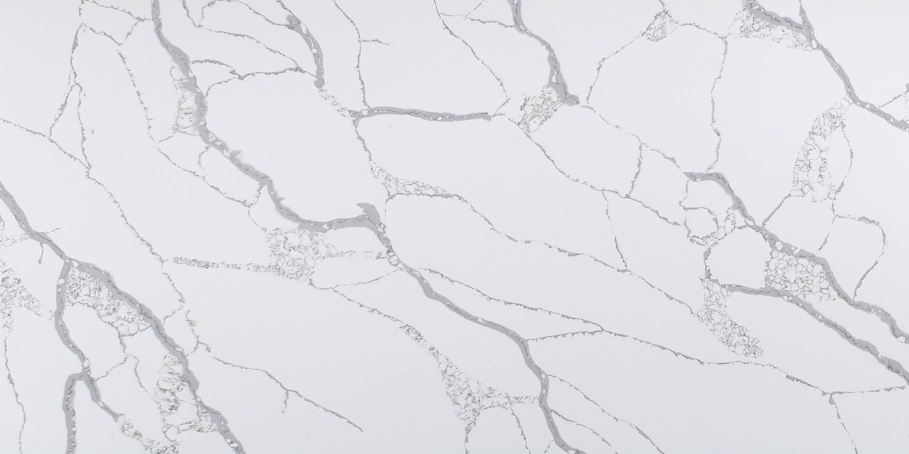New 2020 Factory Calacatta Quartz Slabs K9902