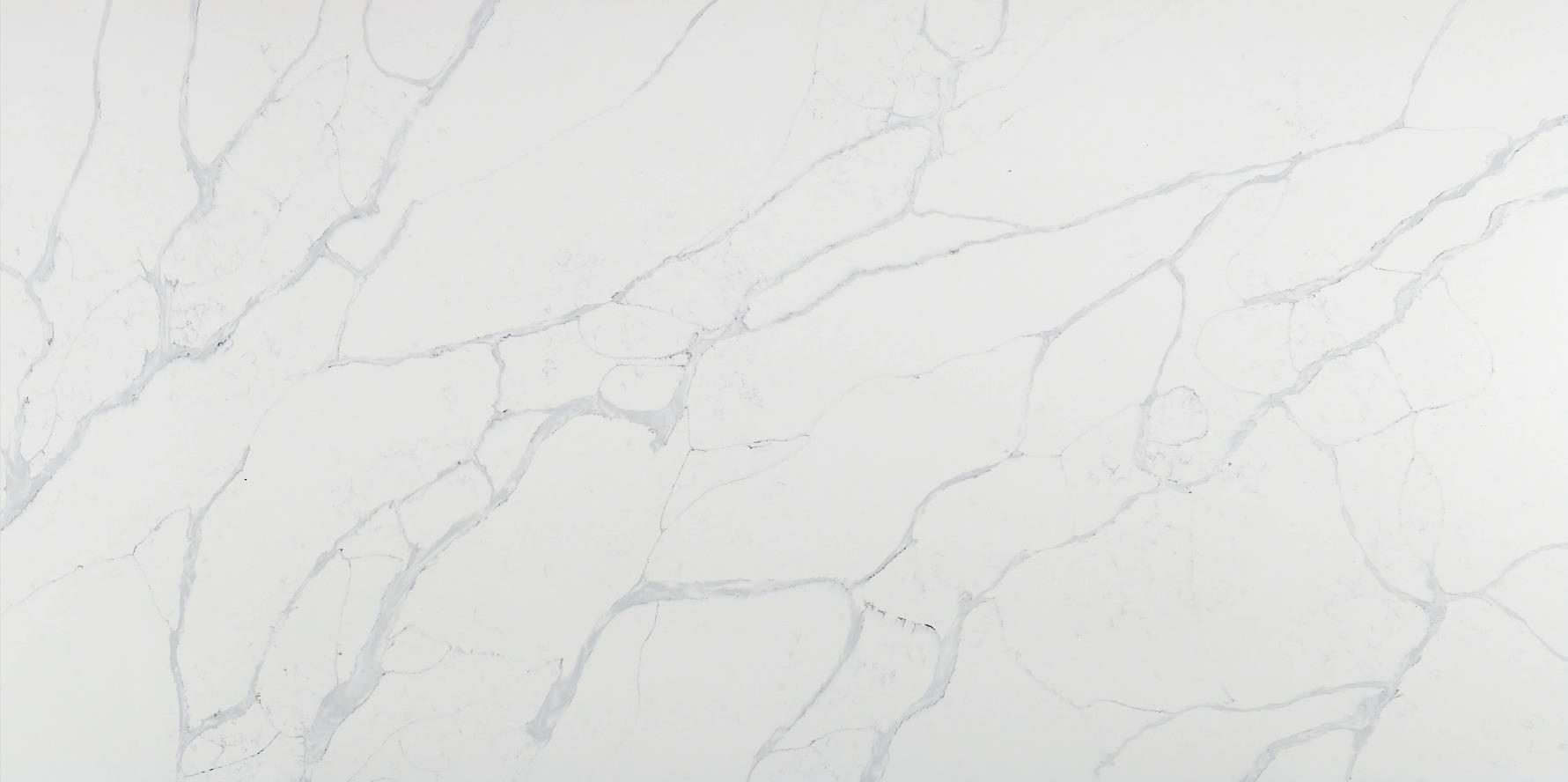 Manufacturer New Calacatta Quartz Stone Slab K9919