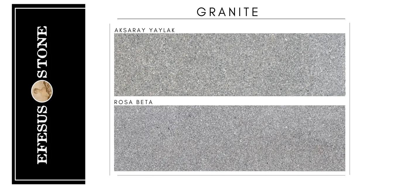 Anatolia Gray Granite-Rosa Limbara Granite