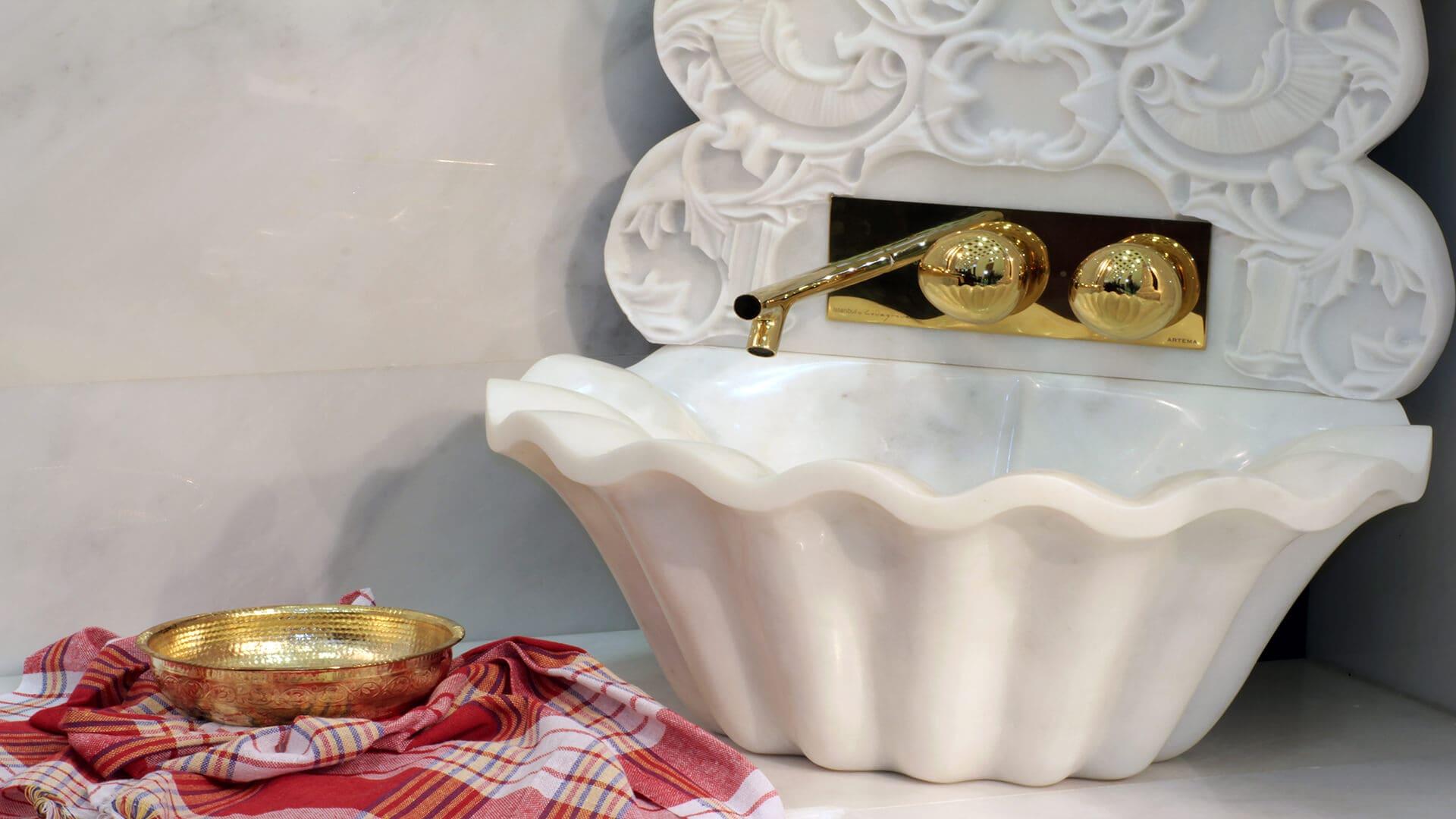 White Marble Arcobaleno