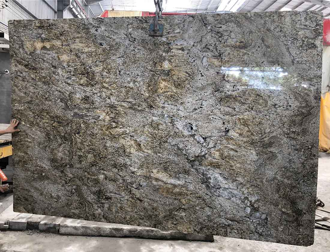 Angola Gold granite slabs
